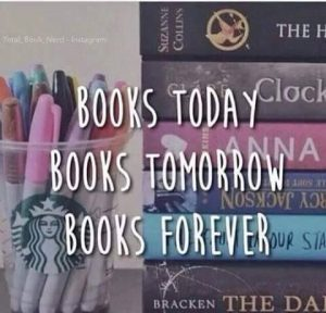 Books today, tomorrow, forever