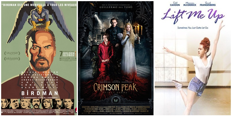 Ciné club #36 : Birdman, Crimson Peak et Lift me up