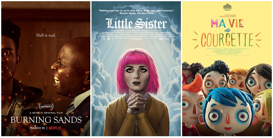 Ciné Club #39 : Burning Sands, Little Sister, Ma vie de Courgette