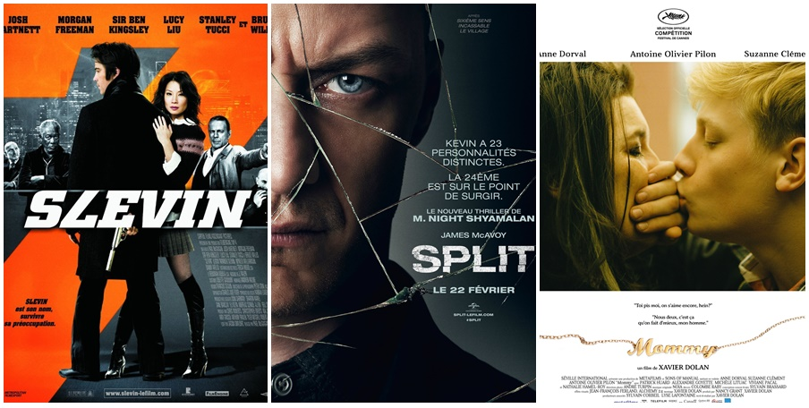 Ciné Club #40 : Slevin, Split et Mommy