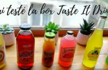 J'ai testé la box Taste It Drinks