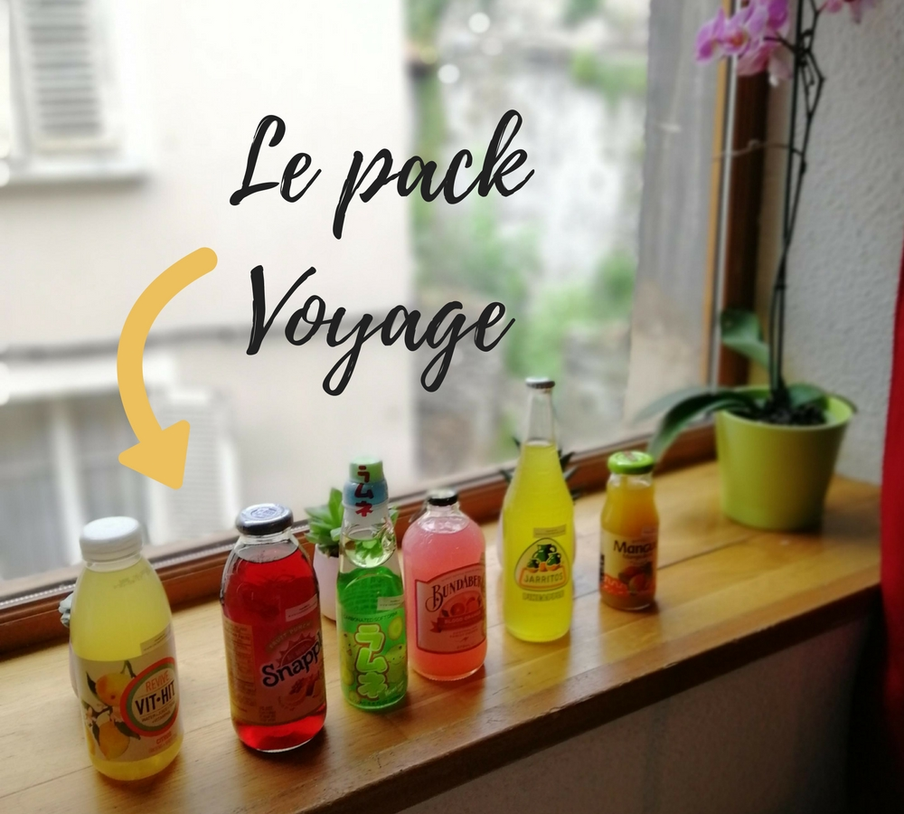 J'ai testé la box Taste It Drinks - Pack Voyage